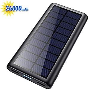 Solar Power Bank 26800mAh, HETP 【2020